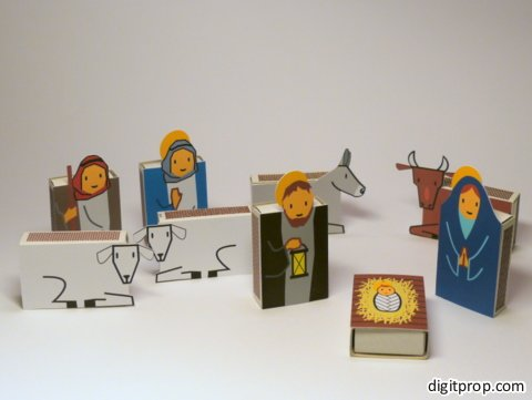 25 diy nativity scenes image source digitprop solutioingenieria Choice Image